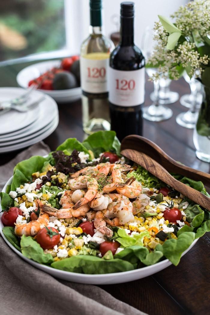 Shrimp And Corn Salad  Grilled Shrimp and Corn Salad Foolproof Living