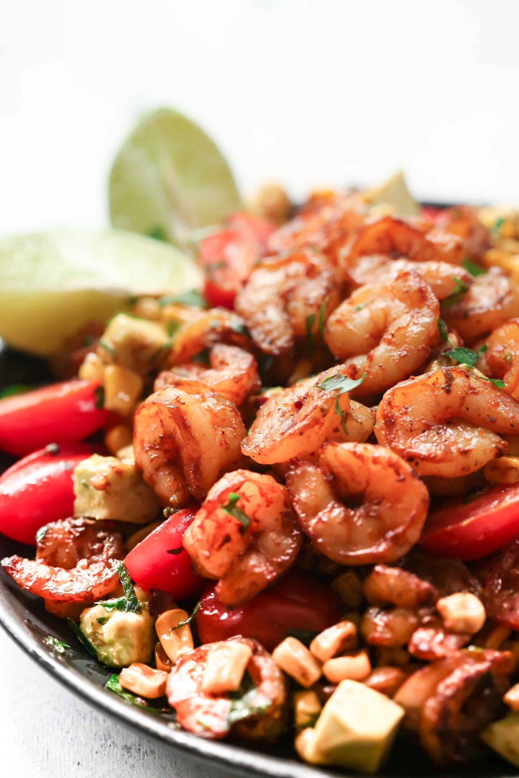 Shrimp And Corn Salad  Corn Shrimp Salad Recipe Primavera Kitchen
