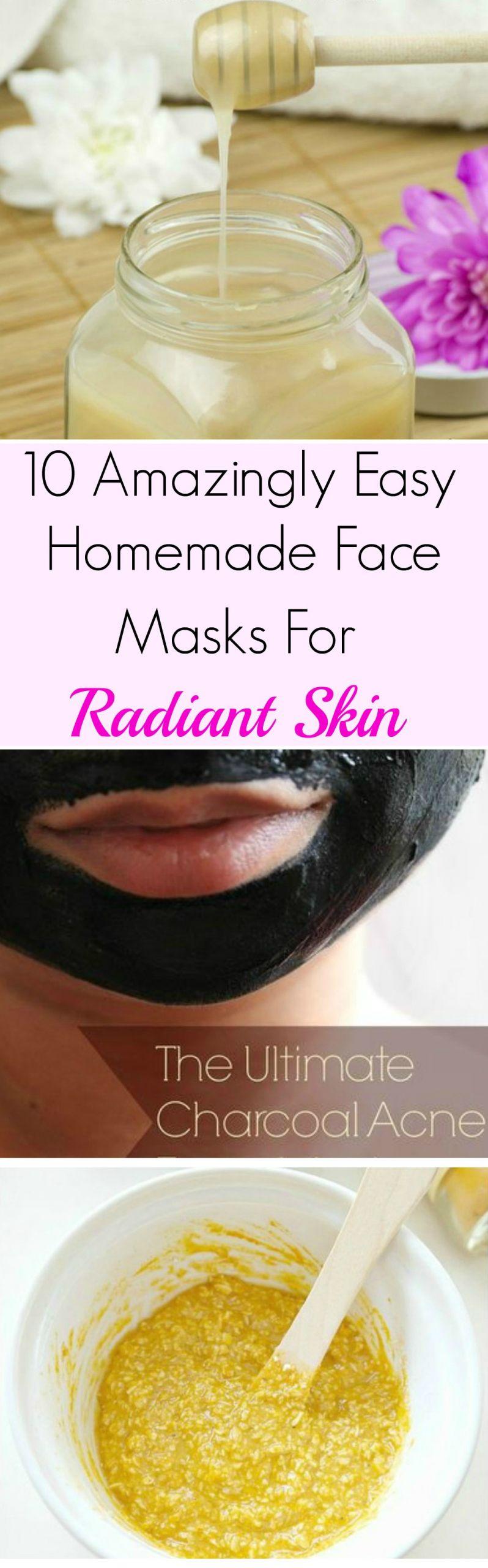 Simple DIY Face Masks  10 Amazingly Easy Homemade Face Masks For Radiant Skin