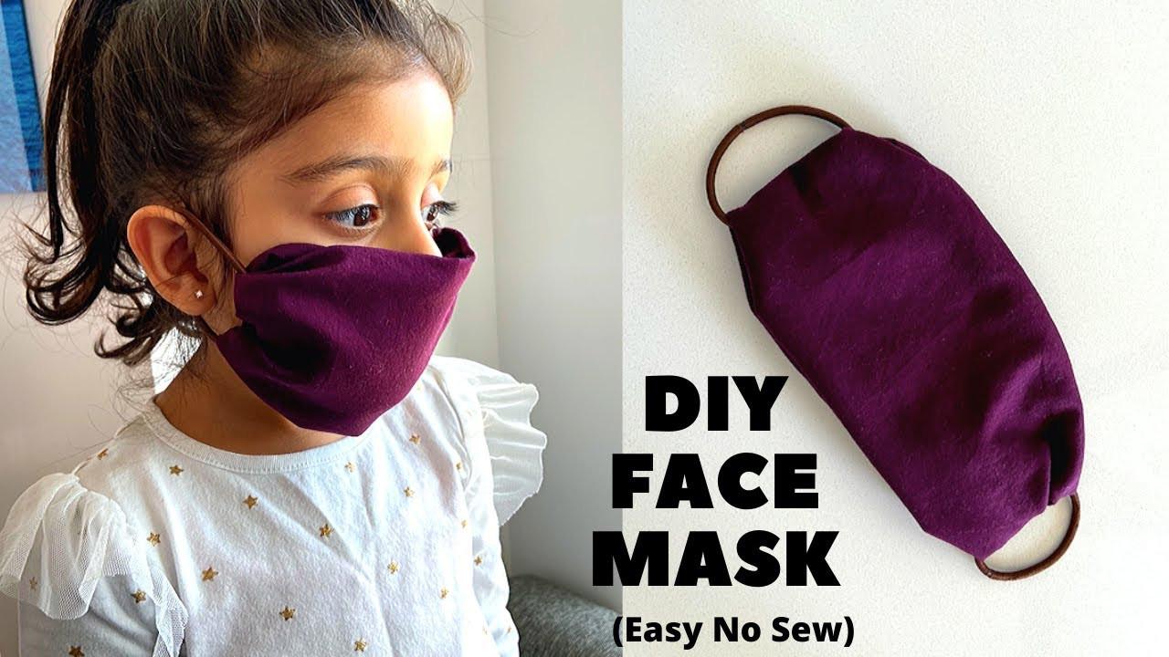 Simple DIY Face Masks  EASY TO MAKE DIY FACE MASK