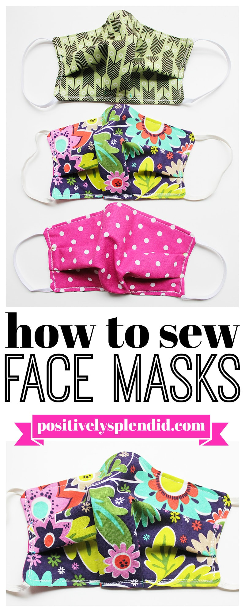 Simple DIY Face Masks  Free DIY Face Mask Tutorials The Cottage Market