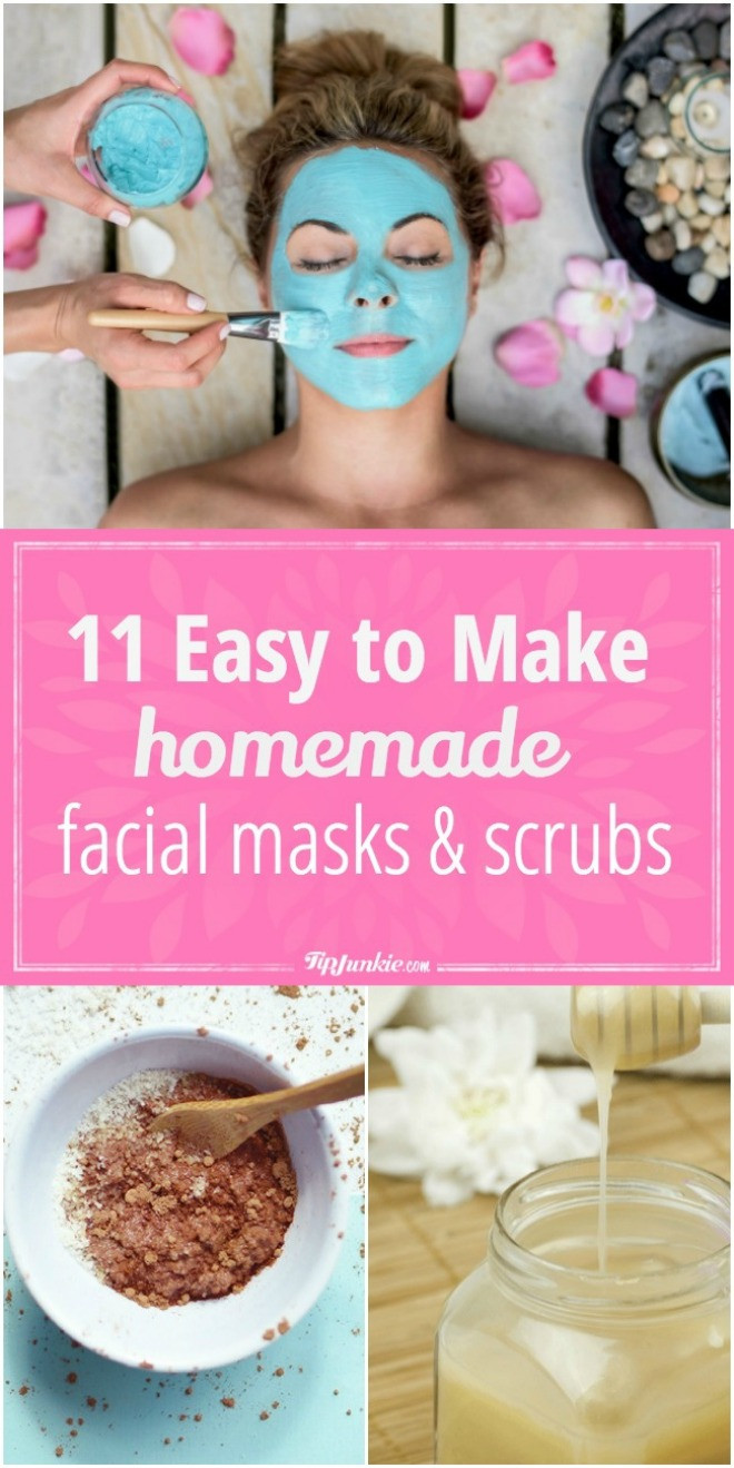 Simple DIY Face Masks  11 Easy to Make Homemade Facial Masks and Scrubs