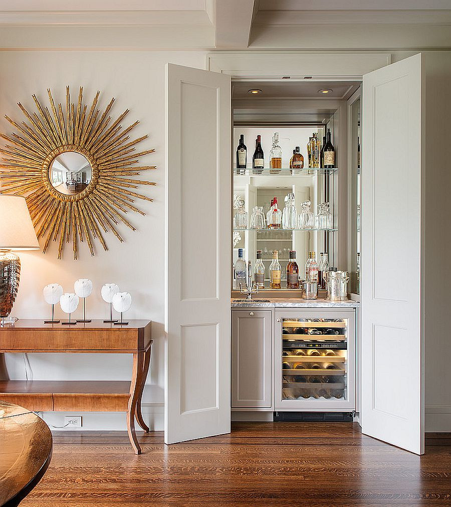 Small Bar For Living Room  20 Small Home Bar Ideas and Space Savvy Designs