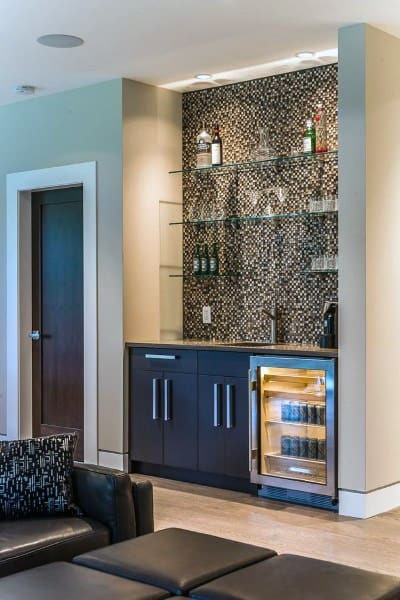 Small Bar For Living Room  Top 70 Best Home Wet Bar Ideas Cool Entertaining Space
