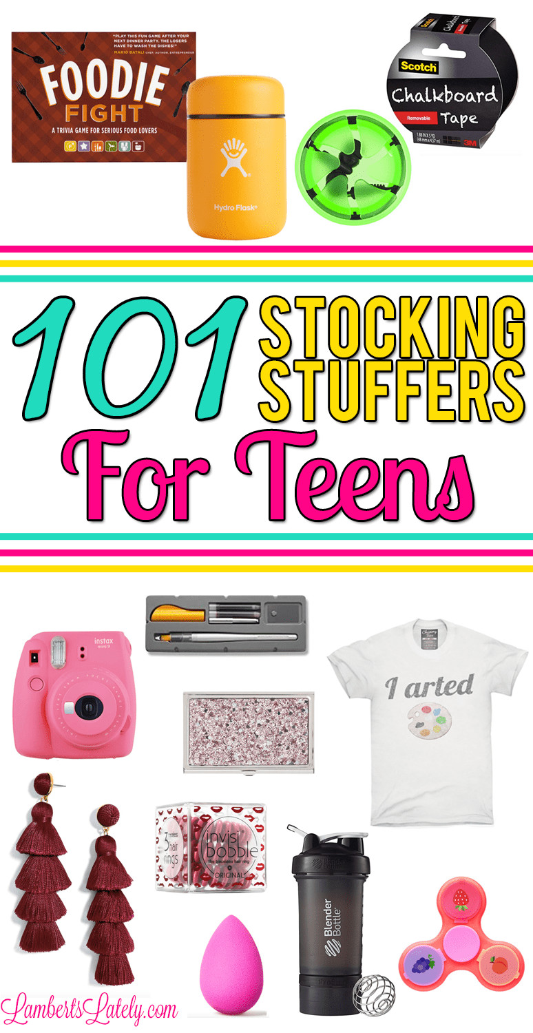 Small Gift Ideas For Girls  101 Stocking Stuffers for Teens