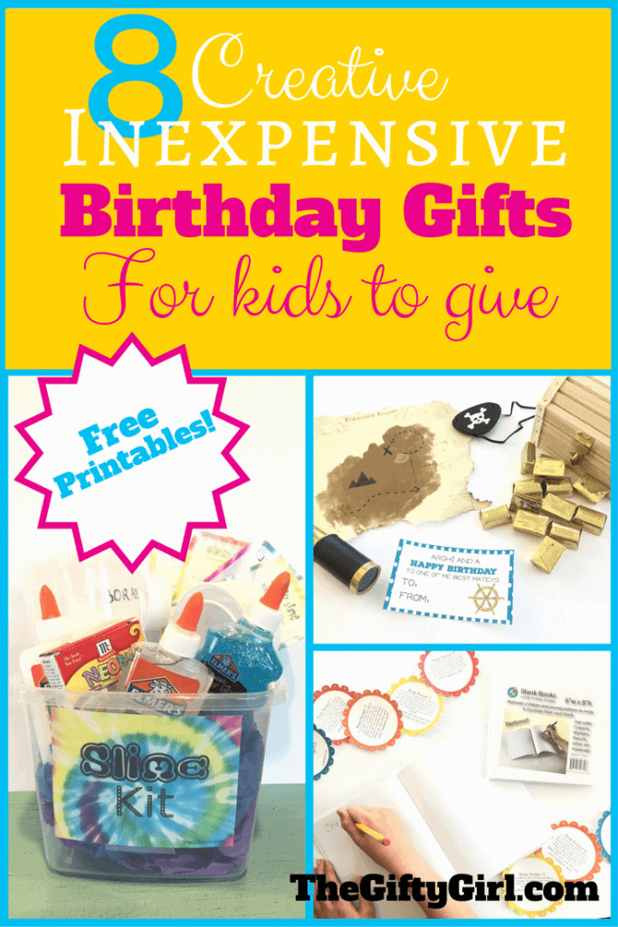 Small Gift Ideas For Girls  8 Creative Inexpensive birthday ts for kids to give