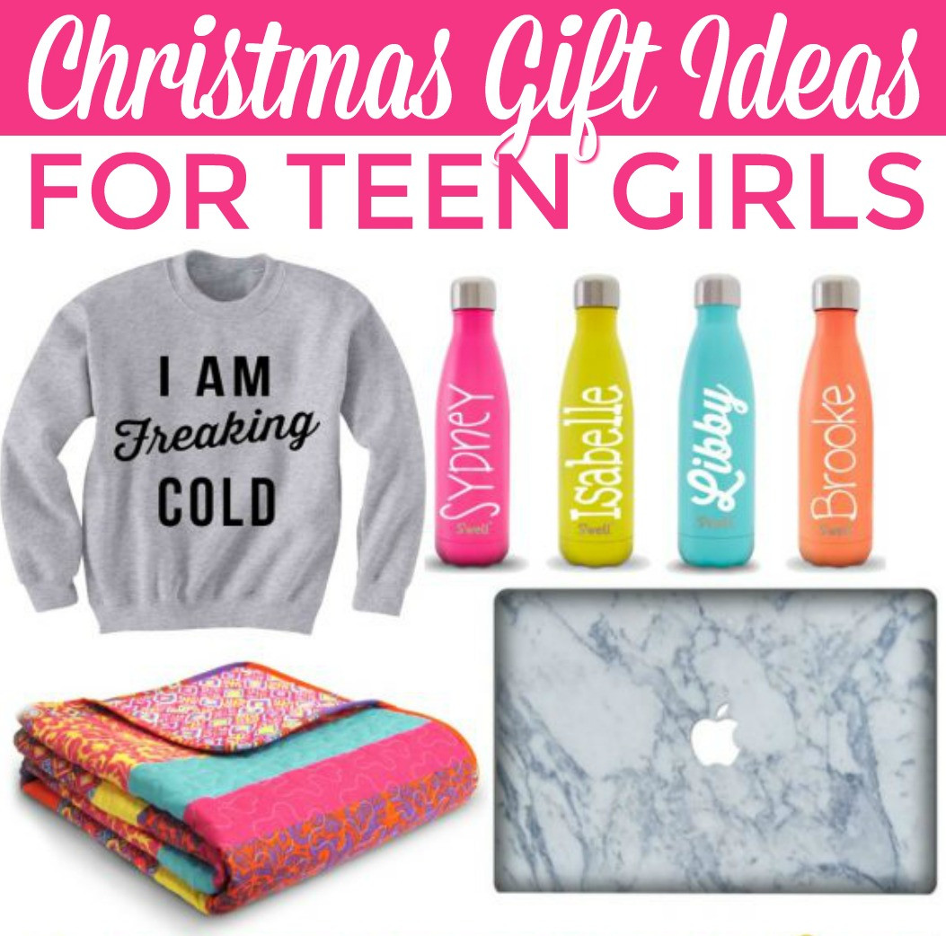 Small Gift Ideas For Girls  Christmas Gift Ideas for Teen Girls A Little Craft In