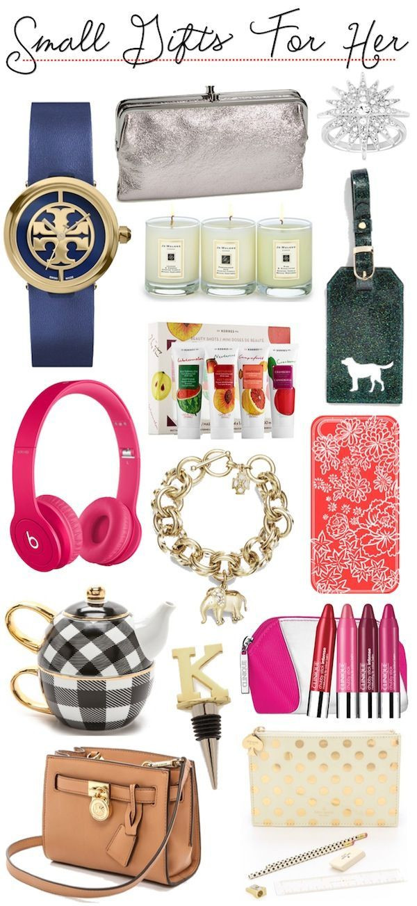 Small Gift Ideas For Girls  Gift Guide
