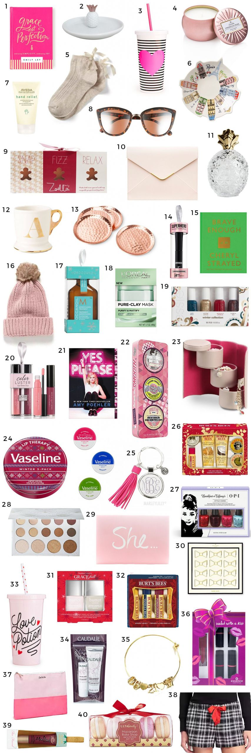 Small Gift Ideas For Girls  The Best Christmas Gift Ideas for Women Under $15