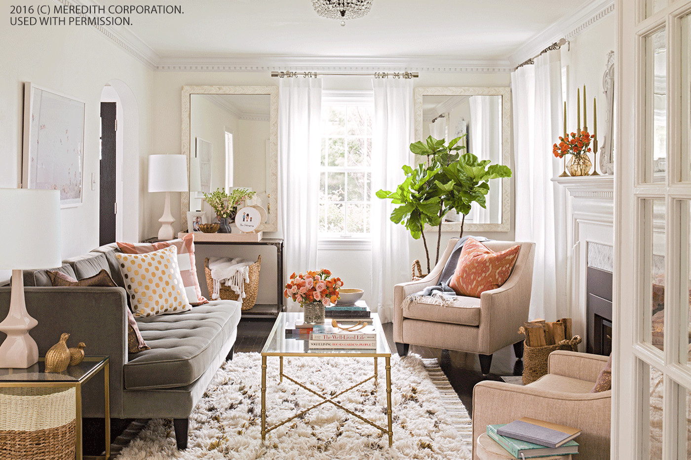 Small Living Room Decor Ideas  Living Room Solutions How to Design Small Spaces With Style