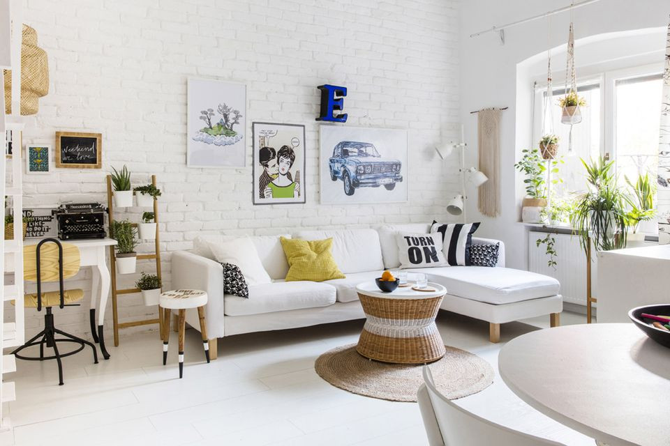 Small Living Room Decor Ideas  How to Decorate a Small Living Room