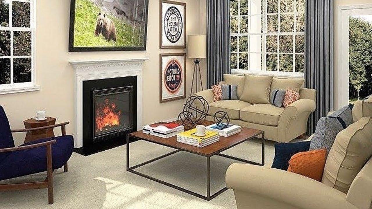 Small Living Room Decor Ideas  Charming Small Living Rooms Inspiring Design & Decorating