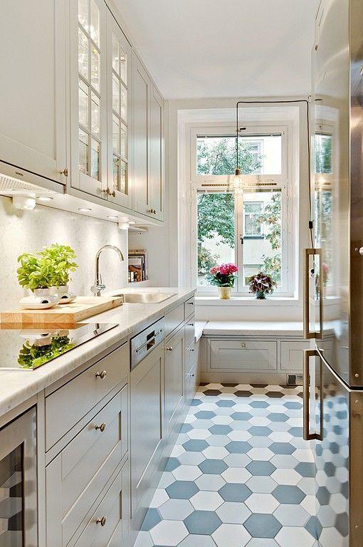 Small Narrow Kitchen Ideas  50 Small Kitchen Ideas and Designs — RenoGuide