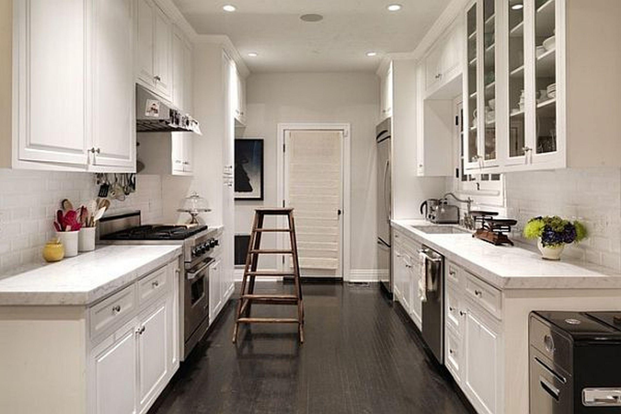 Small Narrow Kitchen Ideas  Simple Kitchens Small Kitchen Design Layout Ideas Best