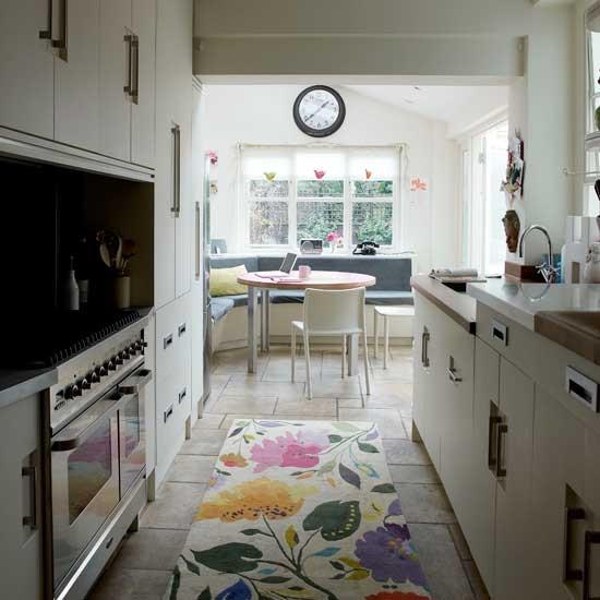 Small Narrow Kitchen Ideas  Narrow modern kitchen Kitchen decorating ideas