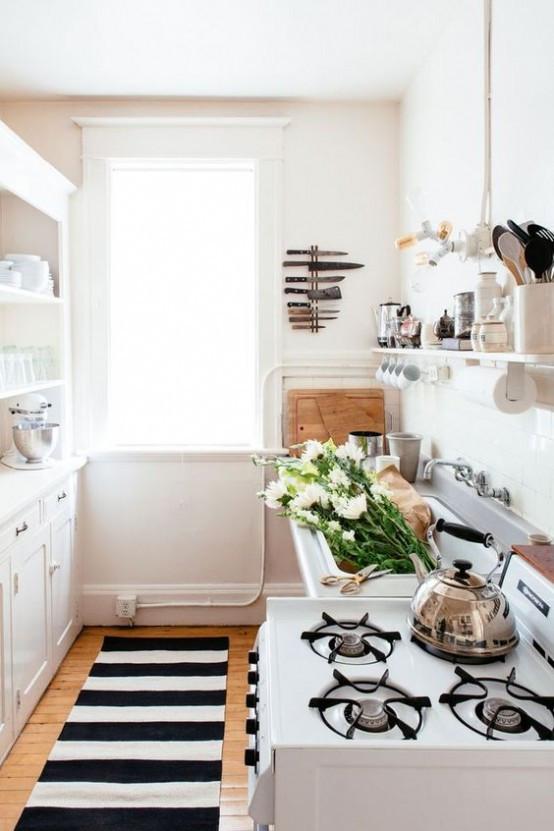 Small Narrow Kitchen Ideas  31 Stylish And Functional Super Narrow Kitchen Design