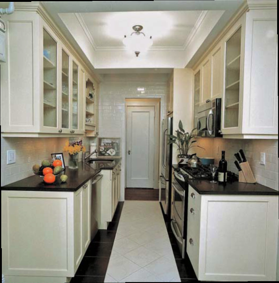 Small Narrow Kitchen Ideas  7 Tips for Finding Your Small Kitchen Style
