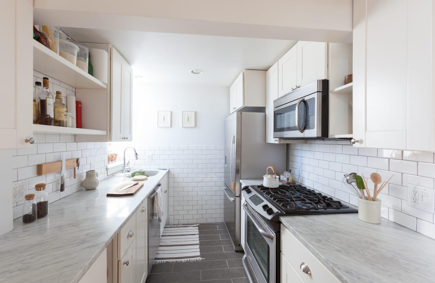 Small Narrow Kitchen Ideas  Galley Kitchen Ideas Designs Layouts Style