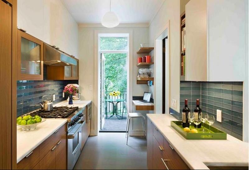 Small Narrow Kitchen Ideas  18 Briliant Small Kitchen Design Ideas Rilane