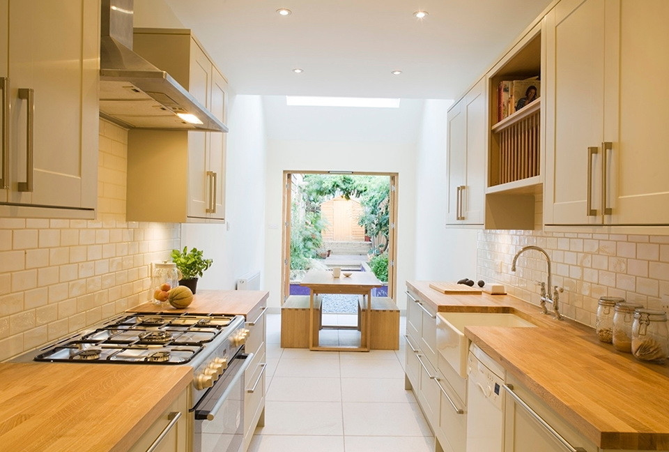 Small Narrow Kitchen Ideas  How To Make A Small Kitchen Look Bigger A Very Cozy Home