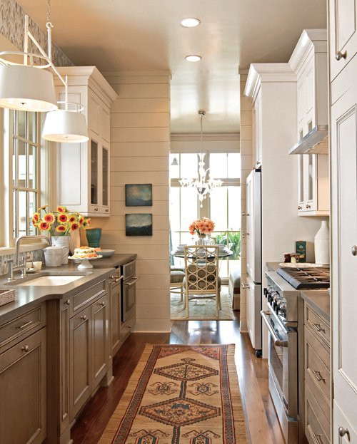 Small Narrow Kitchen Ideas  8 small kitchen ideas