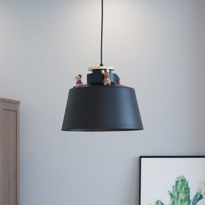 Small Table Lamps For Kitchen  Nordic Modern Iron Pendant Lights for Bedroom Dining Room