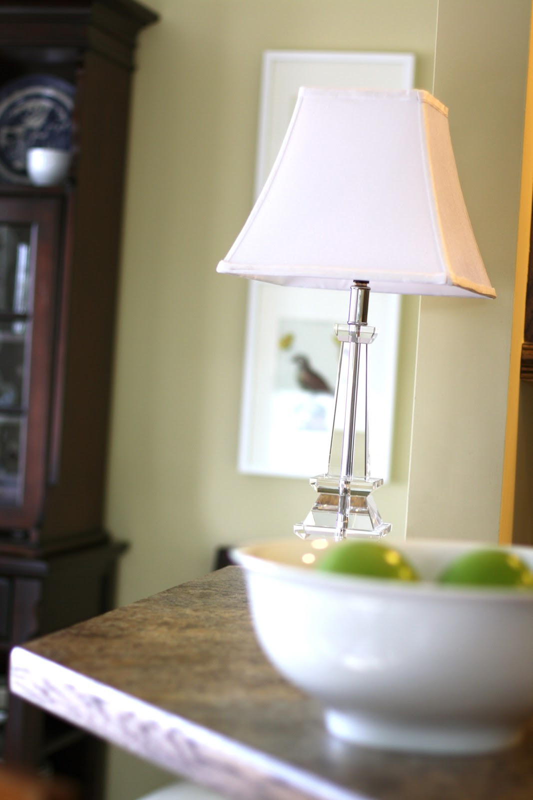 Small Table Lamps For Kitchen  Wrapped in Raffia kitchen table lamp