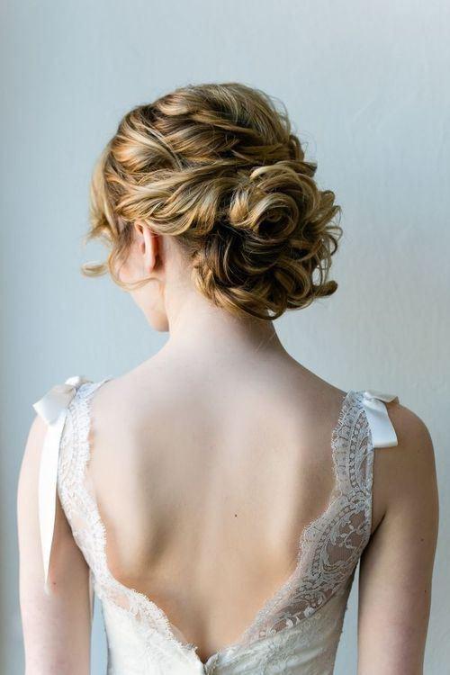 Soft Wedding Hairstyles  Soft & Tender Medium Wedding Hairstyles 2015