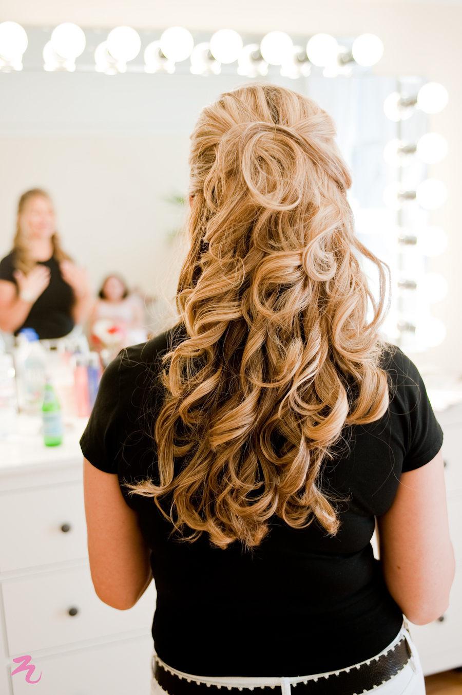 Soft Wedding Hairstyles  Soft Wavy curls for Bridal Trial & Wedding – Triple Twist