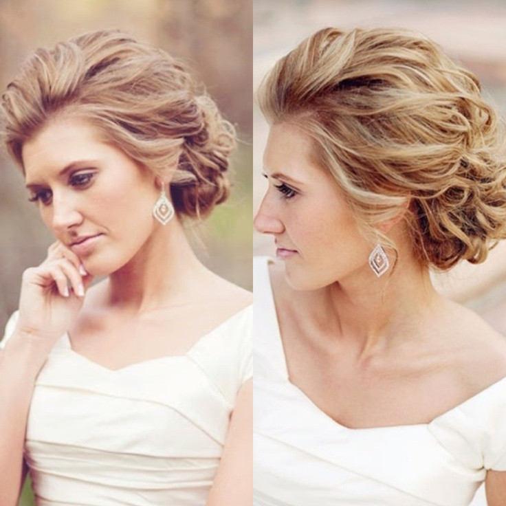 Soft Wedding Hairstyles  Best 25 Wedding hair front ideas on Pinterest
