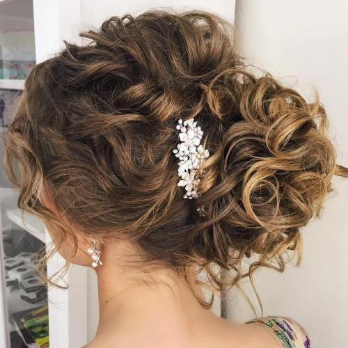 Soft Wedding Hairstyles  20 Soft and Sweet Wedding Hairstyles for Curly Hair 2020