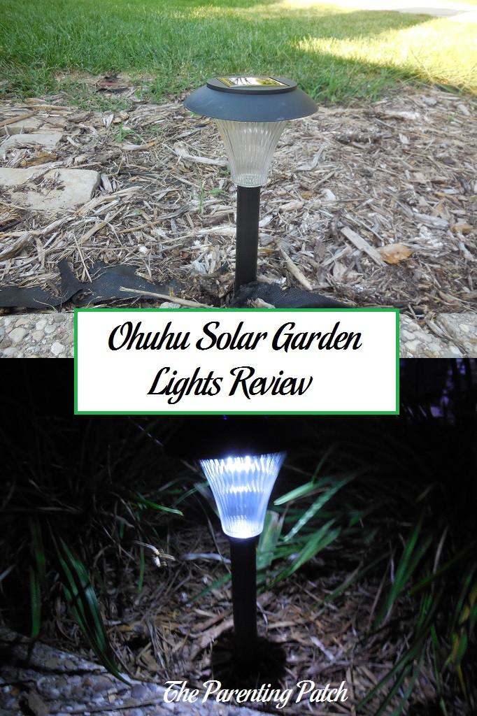 Solar Landscape Lighting Reviews  Ohuhu Solar Garden Lights Review