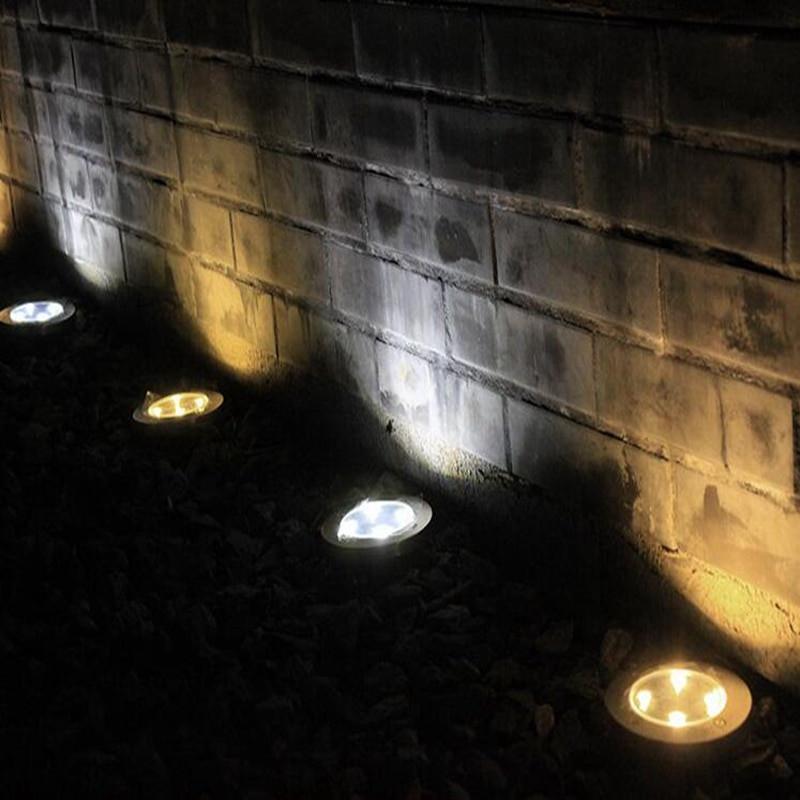 Solar Landscape Lighting Reviews  Wonlukiy 1pcs Solar Light Outdoor Ground IP65 Water