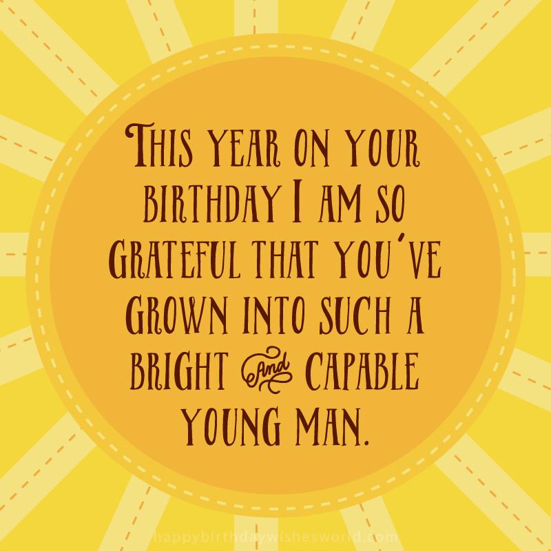 Son Birthday Quote  164 Greatest Happy Birthday Son Wishes BayArt