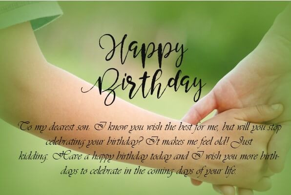 Son Birthday Quote  50 Best Birthday Quotes for Son Quotes Yard