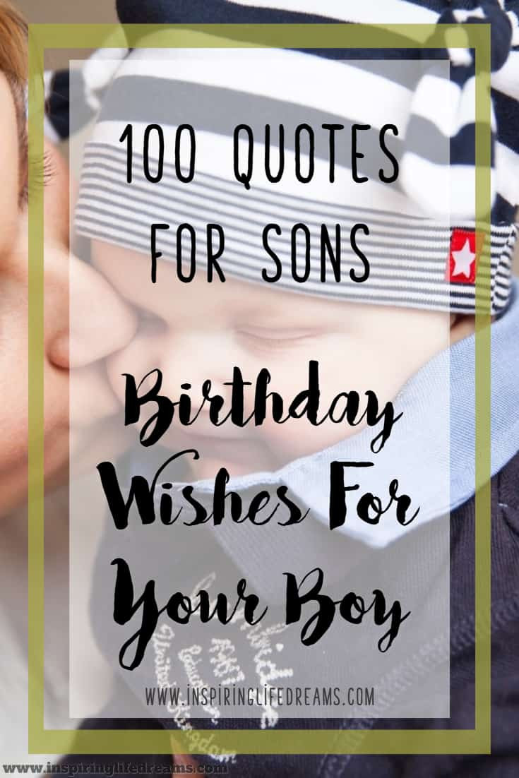 Son Birthday Quote  100 Quotes About Son Birthday Wishes For Son Why Sons