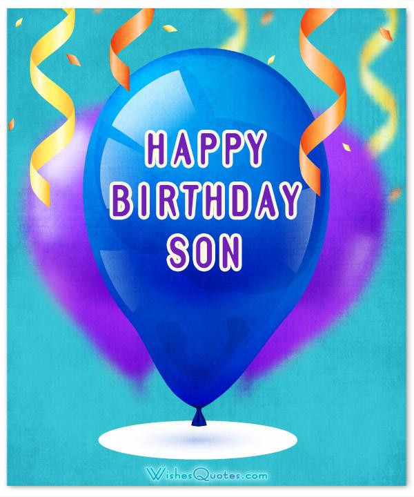 Son Birthday Quote  Amazing Birthday Wishes for Son By WishesQuotes