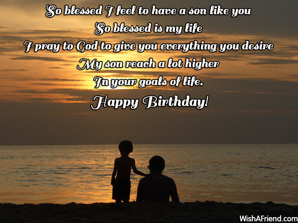 Son Birthday Quote  Birthday Quotes For Son