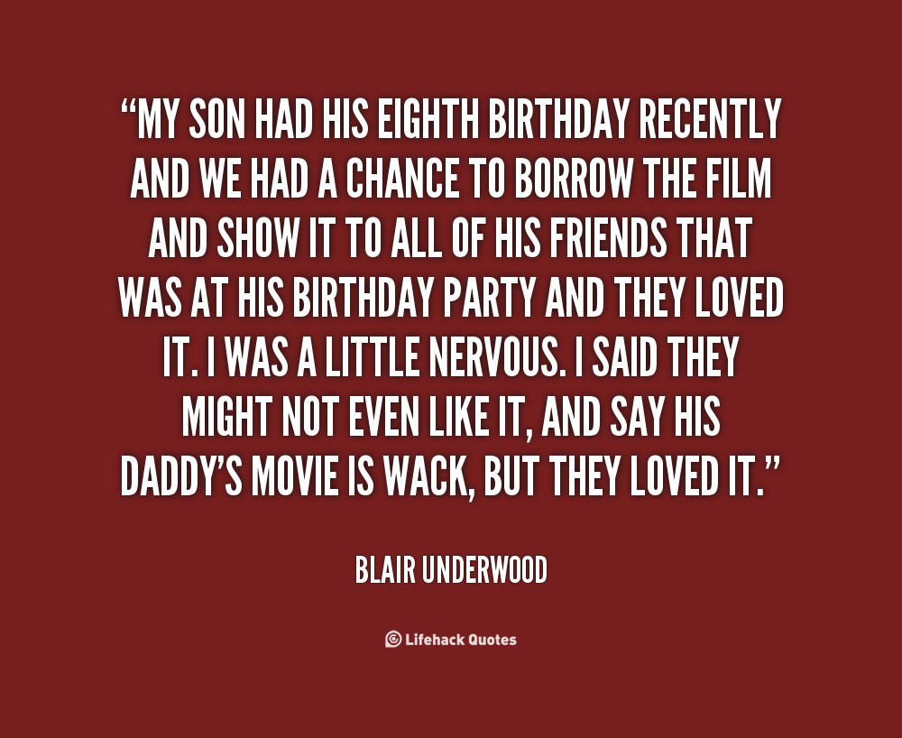 Son Birthday Quote  Quotes about Son on birthday 24 quotes