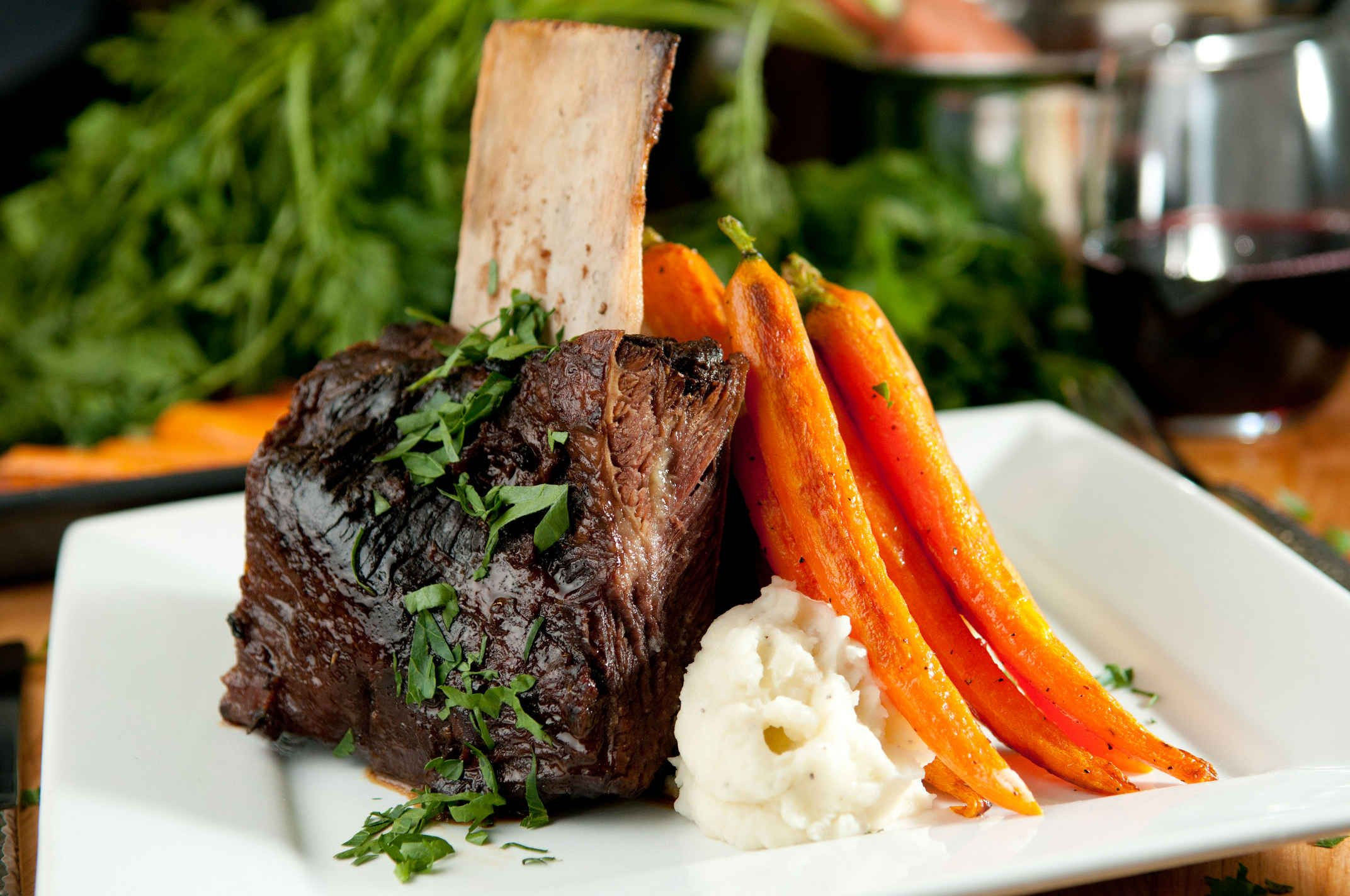 Sous Vide Everything Mashed Potatoes  Sous Vide Short Ribs With Garlic Mashed Potatoes and