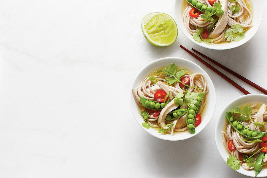 Southern Living Chicken Noodle Soup  Quick Chicken Noodle Bowls Easy Soup and Stew Recipes