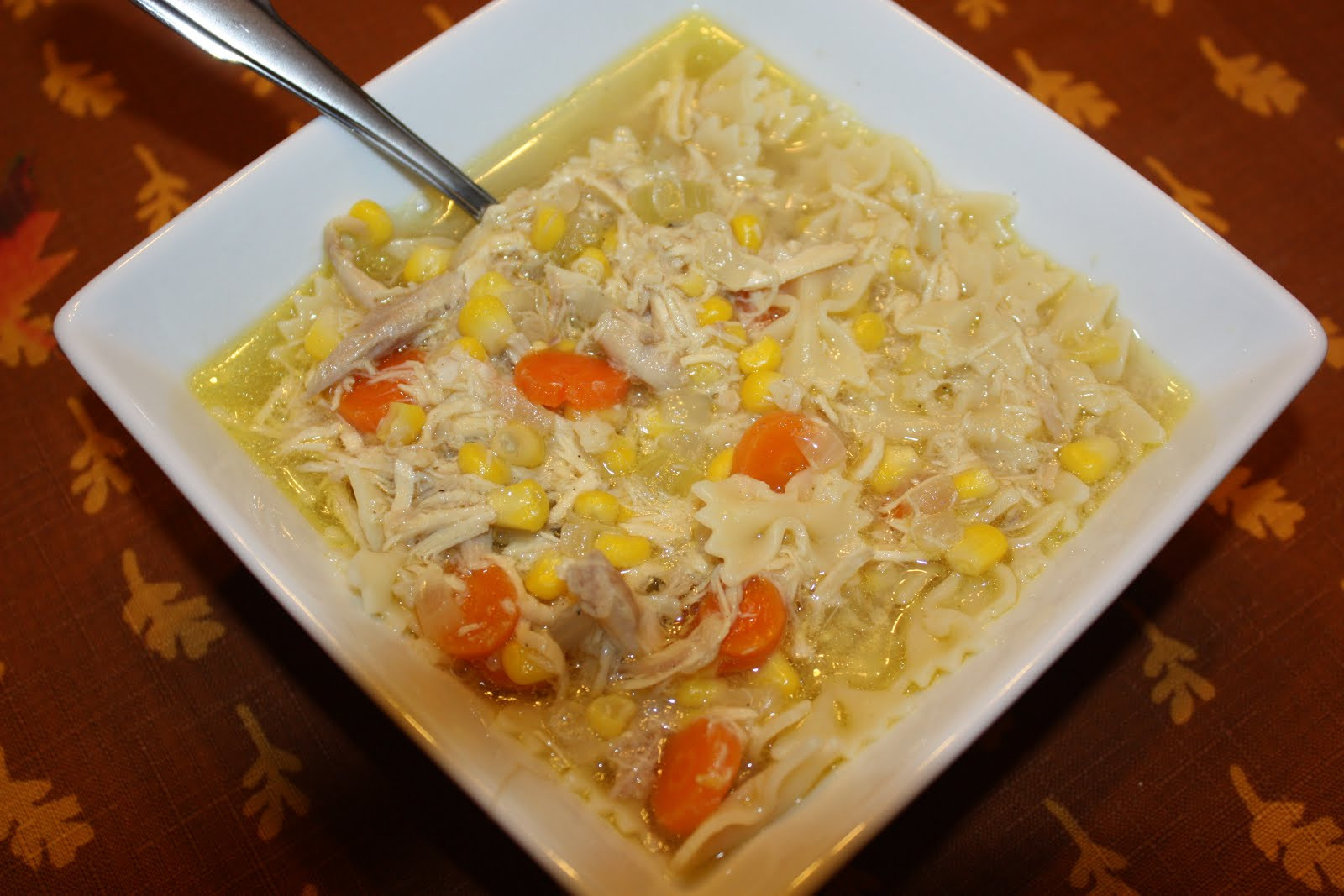 Southern Living Chicken Noodle Soup  Southern Living Yankee Chicken Noodle Soup from Scratch