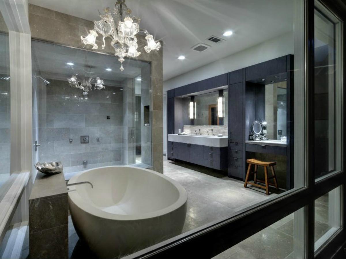 Spa Master Bathroom  7 Dallas master bathrooms better than a luxury spa