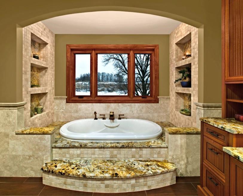 Spa Master Bathroom  Spa like master bathroom design