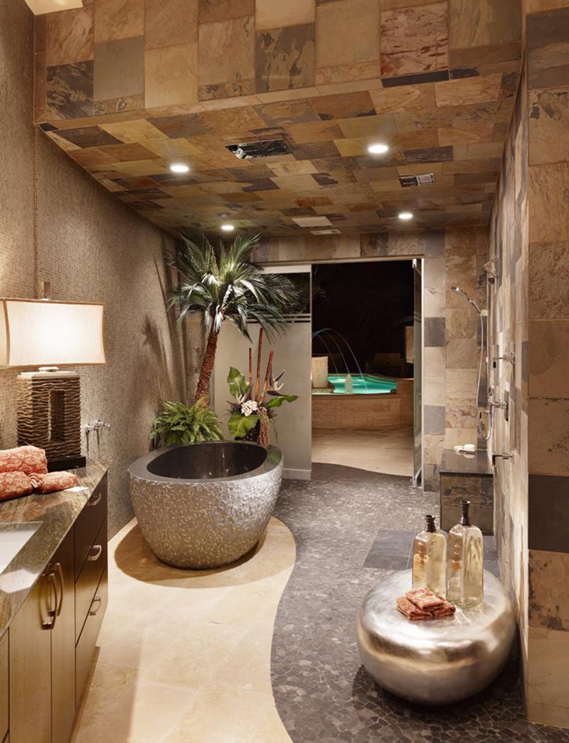 Spa Master Bathroom  23 Spa Style Master Bathrooms