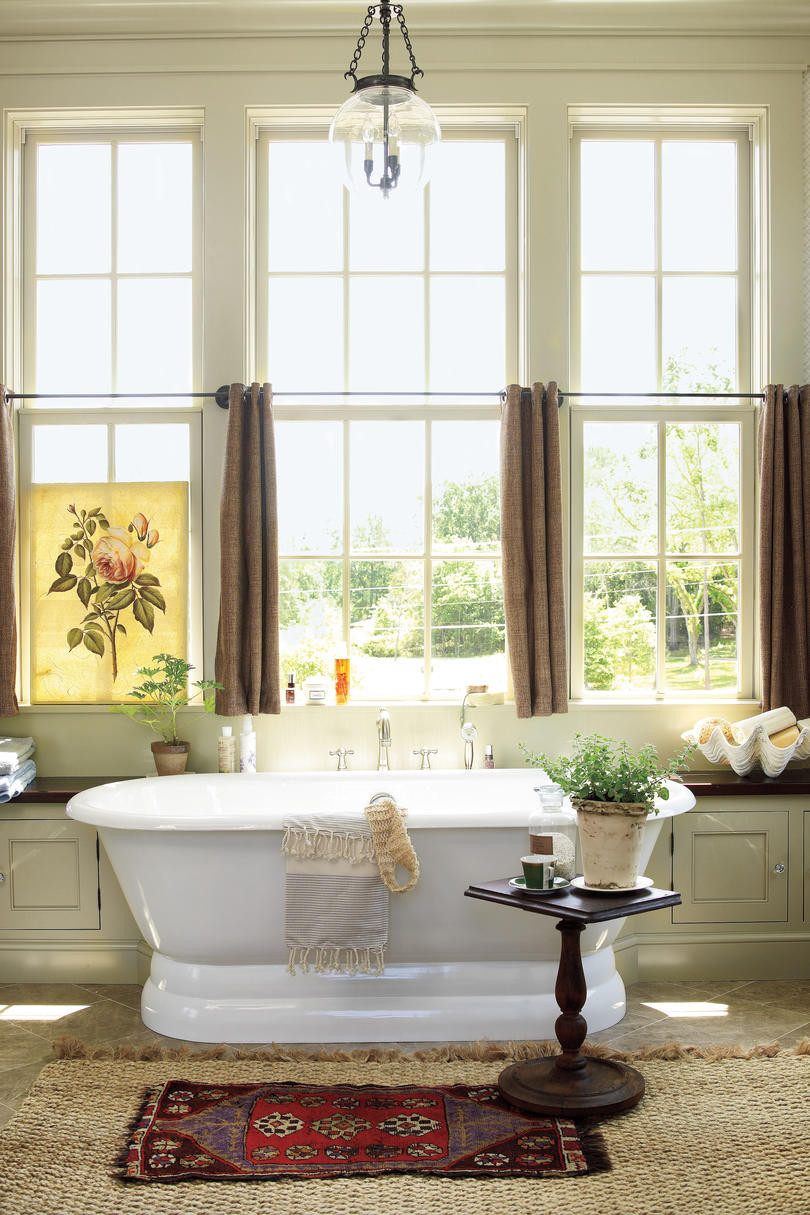 Spa Master Bathroom  Luxurious Master Bathroom Design Ideas Southern Living