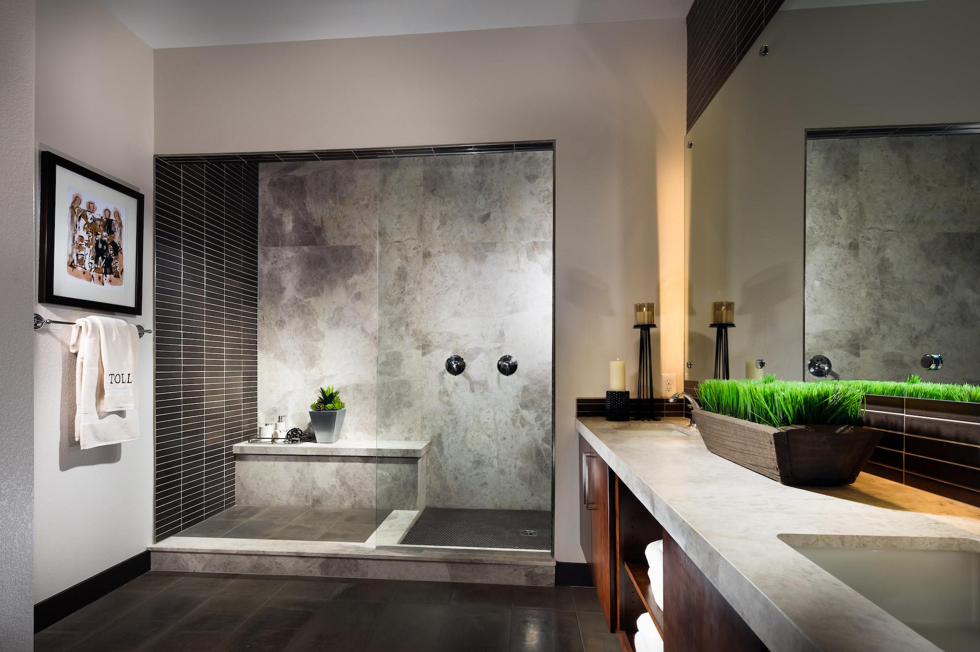 Spa Master Bathroom  25 Luxury Bathroom Ideas & Designs
