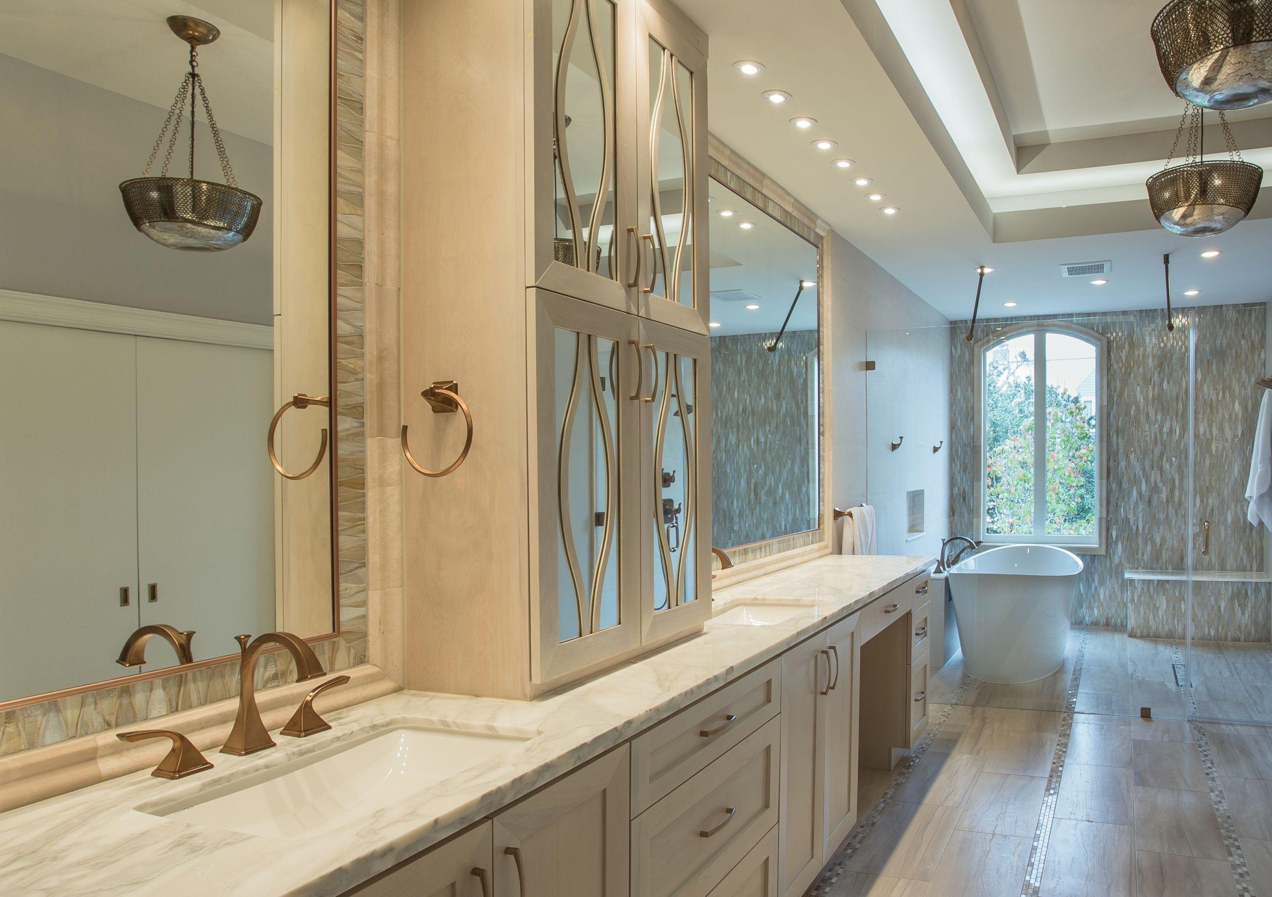 Spa Master Bathroom  River Oaks Houston Texas