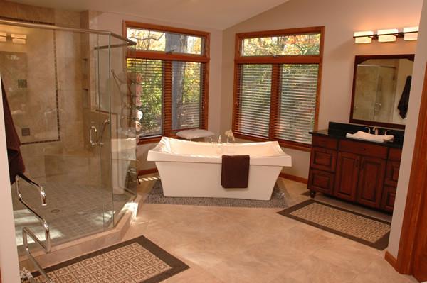 Spa Master Bathroom  4 Design Ideas for a Luxury Master Bathroom Spa