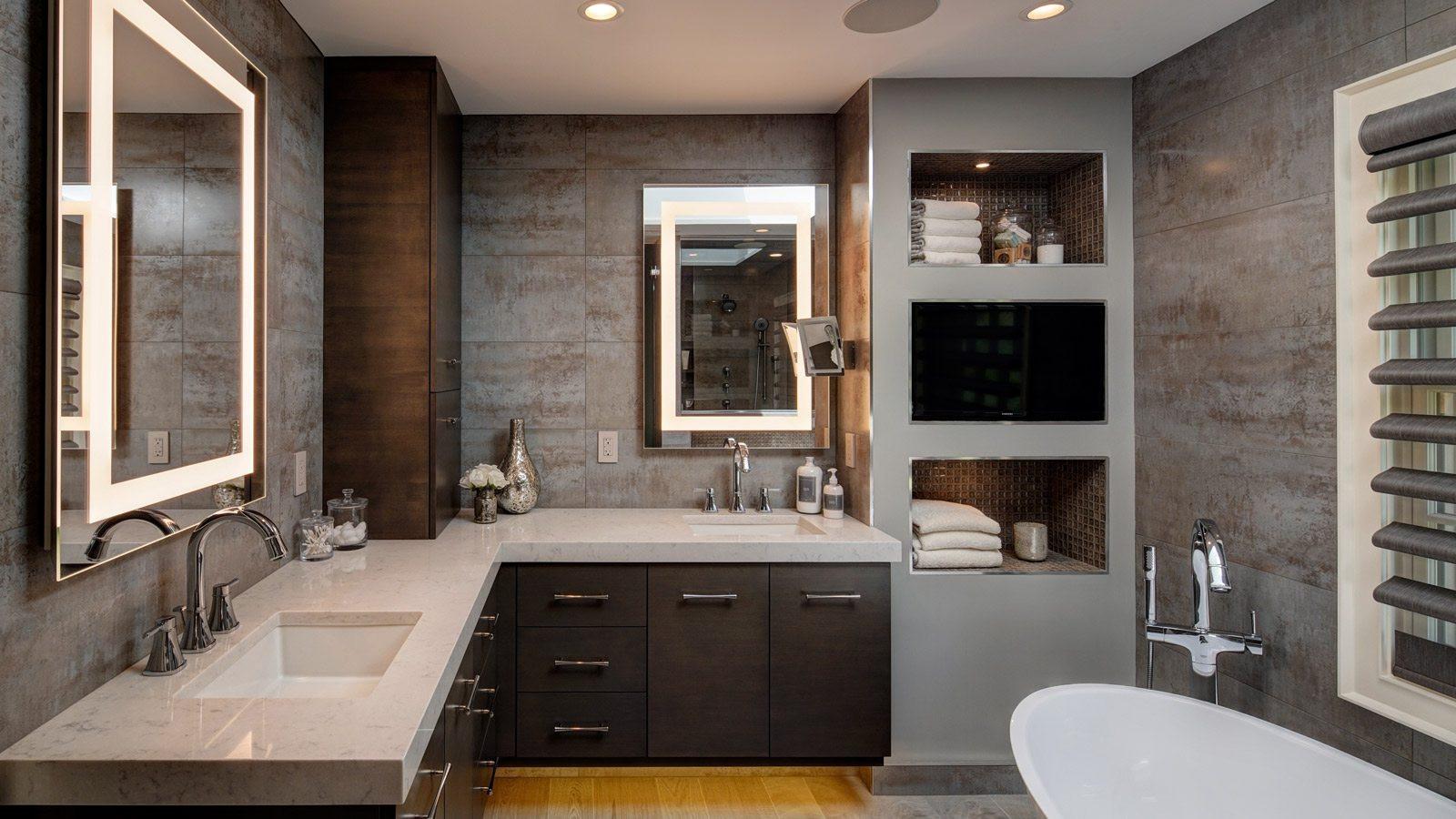 Spa Master Bathroom  Dreamy Spa Inspired Master Bath Remodel Drury Design